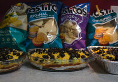 Super Bowl Snacks (Maggggie) Tags: chips snacks superbowl dip odc fattening somethingidontlike