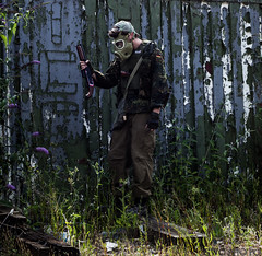 _DSC6376 (CraigSeers) Tags: airsoft roleplay rp weapon apocalypse abandoned urbex survivor army millitary wasteland old