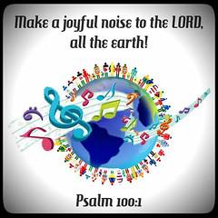 Psalm 100:1 (joshtinpowers) Tags: psalms bible scripture