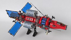 Let's go space trucking! (Sunder_59) Tags: lego moc space mecabricks blender3d render vehicle spaceship spacecraft starship