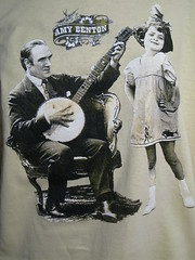 Amy Benton Tour shirt (linernotes56) Tags: amybenton guitar songwriter 4colorprint screenprint manual press tour shirtdesign fanart