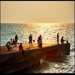 In the mean time (Katarina 2353) Tags: summer sunset rhodes rhodos greece katarinastefanovic katarina2353 film nikon