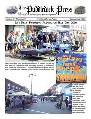 2016-PuddledockPress-p1v37n9 (puddledockpress) Tags: puddledock press 2016 september newspaper frontpage