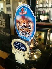 Ossett: Lions roar (DarloRich2009) Tags: lionsroar ossettbrewery ossettlionsroar brewery beer ale camra campaignforrealale realale bitter hand pull