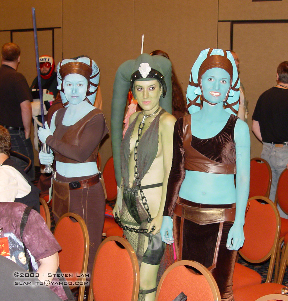 Oola star wars nude cosplay