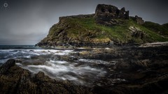 Overlooked from the Past (Augmented Reality Images (Getty Contributor)) Tags: canon castle cliffs coastline findlater landscape leefilters longexposure morayshire panorama rocks ruin scotland seascape water