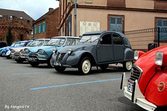 Citron(s) 2CV et AMI6 (fangio678) Tags: expo wasselonne 15 05 2016 voiture voituresanciennes ancienne collection cars classic coche oldtimer youngtimer citron french francaise 2cv ami6