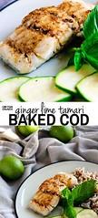 Ginger Lime Tamari G (alaridesign) Tags: ginger lime tamari gluten free baked cod with tips for seasoning all types fish