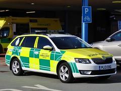 Photo of PL13 CKG - Skoda Octavia Estate SE 2.0 TDi CR - North West Ambulance Service - Chester RRV