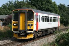 153309 Gerard Fiennes (uktrainpics) Tags: 153309 gerard fiennes class 153 diesel unit