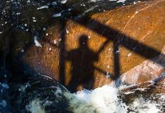 'Self Indulgence' (Canadapt) Tags: waterfall bridge shadow selfie onaping canadapt