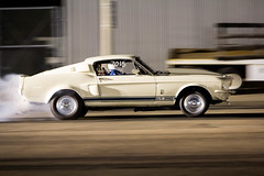 1967 Shelby G. T.  350 (Photos By Clark) Tags: california canon60d canon70200f28isl cities locale location northamerica places sandiego unitedstates where original drag race racelegal qualcomm night v8
