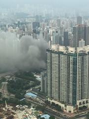 Fire!!! (Hong Kong tedyockey) Tags: fire hongkong yaumatei kowloon