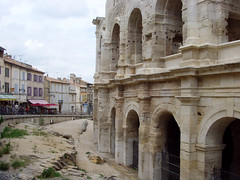 Arles, France - Roman Amphitheatre (johnnysenough) Tags: 32 arles romanamphitheatre provence provencealpesctedazur bouchesdurhne south southernfrance france frankreich francia europe eu unesco worldheritagesite landscape 100citiesx1trip travel snv34084 johnnysenoughhepburn