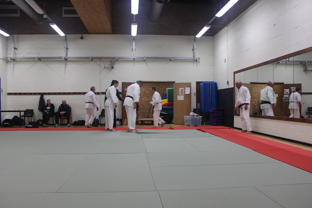 New Judo Mats for the Club - Hosaka Kwai