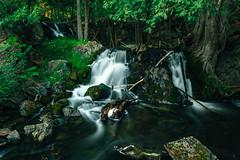 Upper Fumee Falls (Marty Hogan) Tags: fumeefalls fumeecreek upperpeninsula waterfalls dickinsoncountymichigan upperfumeefalls