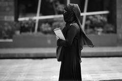 Where's your focus girl ? (N A Y E E M) Tags: lady burqa niqab hijab candid portrait yesterday afternoon street gmroad chittagong bangladesh carwindow