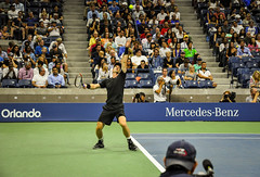 US-Open-2016-27 (fabergtourexperience) Tags: usopen tennis new york usa arthur ashe stadium stanislaswawrinka stan wawrinka novakdjokovic djokovic experience sporting events sunset sunny day