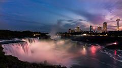 Niagara Falls (goyalvk.pgraphy) Tags: niagara falls niagarafalls newyork night sunset longexposure twilight landscape waterfall waterfalls water