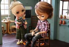 Colinho da vov - 1 (MUSSE2009) Tags: blythe doll custom toys gramdma vovnen vinnie diorama miniature