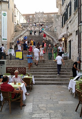 Dubrovnik - Croatia (Been Around) Tags: dalmatia dalmatien europe eu europa europeanunion expressyourselfaward croatia concordians cro worldtrekker travellers thisphotorocks travel holiday hrvatska twop niceshot onlyyourbestshots dubrovnik oldtown dubrovnikoldtown croazia stairs stiege kroatien
