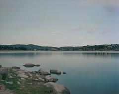 (roundtheplace) Tags: landscape landscapephotography lowlight longexposure lake nsw australia australianlandscape pentax67 portra portra160 mediumformat dusk reflection snowyhydro snowhydroscheme jindabyne
