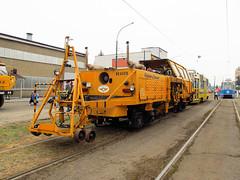 Plasser & Theurer Beaver 4-73W, #108R, Tramwaje lskie (transport131) Tags: tram tramwaj t bdzin kzk gop plasser theurer beaver 473w