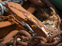 Nautical 4 (redladyofark) Tags: nautical sea ship anchor chain winch shackle chandlery