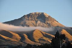 Corazn Volcano (Ryan Hadley) Tags: coraznvolcano corazn volcano volcancorazn clouds sunrise alpenglow landscape chuquiragualodge avenueofthevolcanoes ecuador southamerica mountains andesmountains