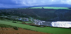 Photo of Fishguard Bay & Hamlet Bryn Henllan, Wales -2
