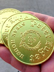 Coin Chocolate from Peter Luger in Brooklyn (Fuyuhiko) Tags: coin chocolate from peter luger brooklyn steak house          new york ny    us