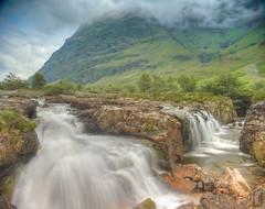 River Coe (Ray Devlin) Tags: glencoe glen coe scottish highlands landscape mountain scotland nikon d800 long exposure river