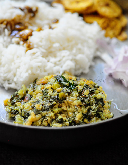 Bok Choy Dal Curry-Bok Choy with Lentils