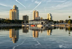 St. Pete (Dennis Cluth) Tags: st boats nikon waterfront florida petersburg d800 coatal