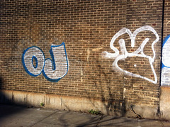 OJ (taste-maker) Tags: nyc graffiti outline xtc oj fyc ojae fillin throwie