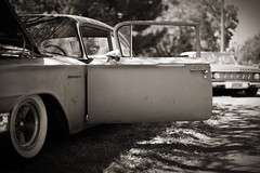 (tin woody) Tags: auto classic chevrolet car vintage chevy kansas salina biscayne 32ndkkoaleadsledspectacular