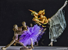 Ballet II (sairacaz) Tags: ballet macro colors canon tamron 90mm tamron90mm miniaturas canoneos550d