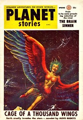 planet stories (pelz) Tags: scifi sciencefiction pulp bookcover portada cienciaficcion cubiertas