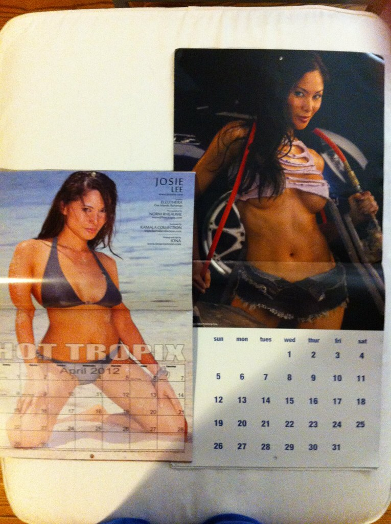 Calendar Model - Josie Lee (Hot Tropix & Autobodies Calendars)  (josielee)