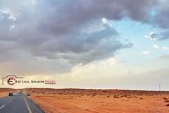 طريق البر (2) (Ebtehal Ibrahim) Tags: canon البر عنيزة الغضا