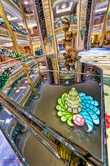 "Disney Fantasy Atrium Lobby Christmas Decorations Piano Reflection • <a style=""font-size:0.8em;"" href=""http://www.flickr.com/photos/8980678@N03/8310900161/"" target=""_blank"">View on Flickr</a>"