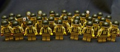 American Army ([Baci]) Tags: yellow infantry flesh is lego m1 steel wwii 4th pot than americans ba division waterslide airborne better decals 3333 3rd eto helmets 101st 82nd divisions 19421945 brickarms roaglaan roaglaans trollololo