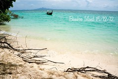 Bamboo Island (louise garin) Tags: travel mer thailand asia plage thailande ocan bambooisland sonynex5n