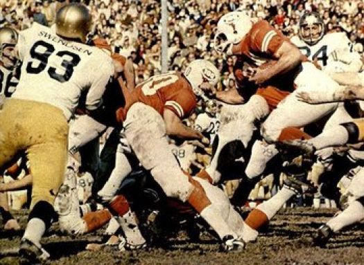 But Were Not On The 1971 Cotton Bowl Jerseys Names Reappeared For 1973 Orange After That ND Wore In Each