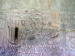 Cambodia (Juni 12) Angkor Wat (Syydehaas) Tags: temple asia asien cambodia kambodscha southeastasia sdostasien vishnu khmer buddha angkorwat unesco relief indra shiva krishna angkor taprohm elefant kailash sandstein apsara indianajones cultural garuda pavillon brahma lintel indochine tempel naga tonlesap preahkhan bayon overland indochina cambodja angkorthom banteaysrei banteaykdei meru linga neakpean prerup tasom siamreap pagode ramayana gopuram buddhismus baphuon bakong baray abenteuer hinduismus jayavarman preahko lolei phimeanakas suryavarman henrimouhot prasatkravan lokesvara elefantenterrasse lepraknig kirnen milchozean lingaparvata roluosgruppe highflyer261 syydehaas bramaismus devarajakult bouvillevaux stlichermebun