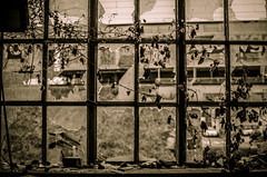 (Erik Janssen - street photography) Tags: street broken window glass rue fentre shards glas raam verre straat scherven cass clats kapot