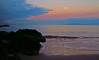 morning moon (bluewavechris) Tags: ocean morning sea sky moon color beach water rock clouds island dawn hawaii lava sand maui moonset lanai molokini breakingdawn