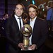 Globe Soccer Awards 2012 - Radamel Falcao and Tommaso Bendoni
