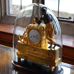 Leeds Castle 8697 (Tony Withers photography) Tags: uk castle clock lady kent carriage leeds olive historic anchor slave 2012 baillie
