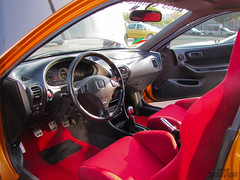 Honda Integra Type-R B18c NSX Orange JDM by Vesar Photography (Vesar Photography) Tags: red orange white honda greek photography championship milano greece turbo r type thessaloniki civic integra edm jdm nsx typer recaro ellada vtec itr b18c vesar kontres